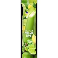 Meloni-laimijäätis puuviljajää glasuuris, külmutatud, 110ml/85g/30tk, RUD (-18C)