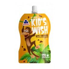 KID`S WISH, kakaojäätis, külmutatud, 120ml/70g/30tk, RUD (-18C)