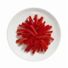 Paprika ribad, 6mm, külmutatud, 2,5kg, (-18C)