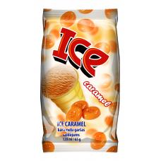 """Karamellijäätis vahvlitopsis """"ICE"""" 120ml/65g"""